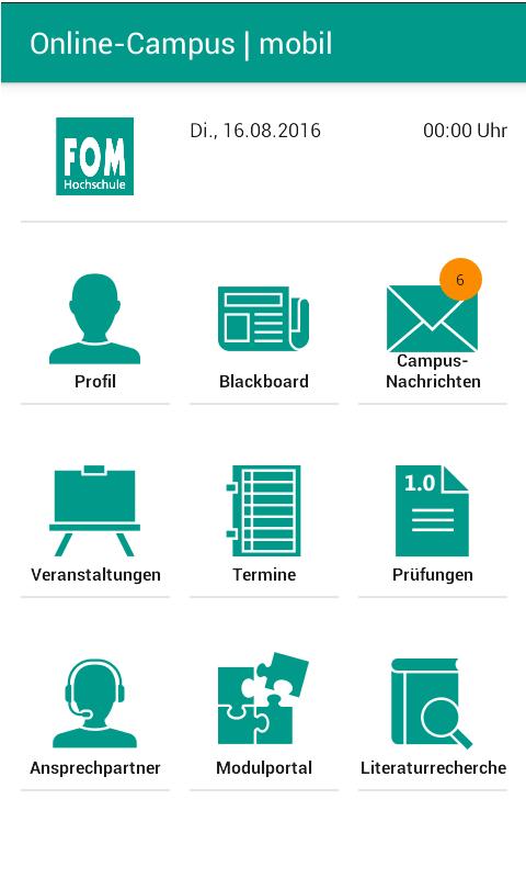 Online Campus Dashboard